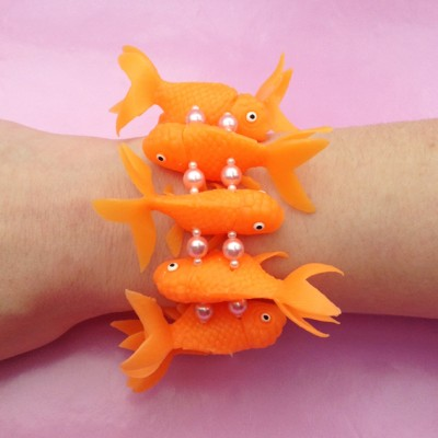 bracelet fish orange light