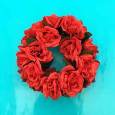 bracelet flower redroses 72