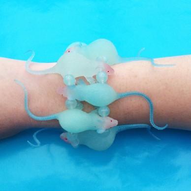 bracelet rat blue