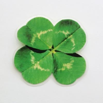 brooch clover