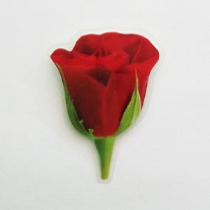 brooch  red rose