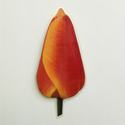brooch lam tulip orange