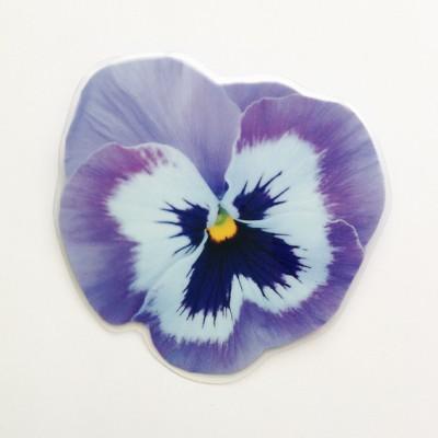 brooch lam violet large