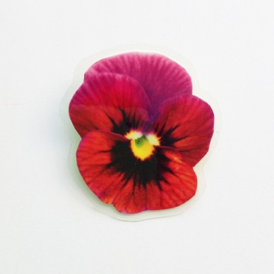 brooch  violet small