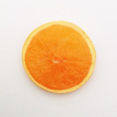 brooch orange light