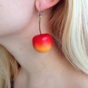 earring cherry light