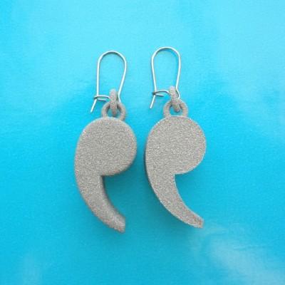 earring comma alumide