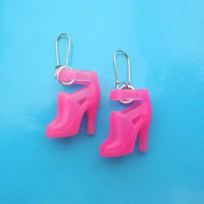 earring shoe pink 1 72