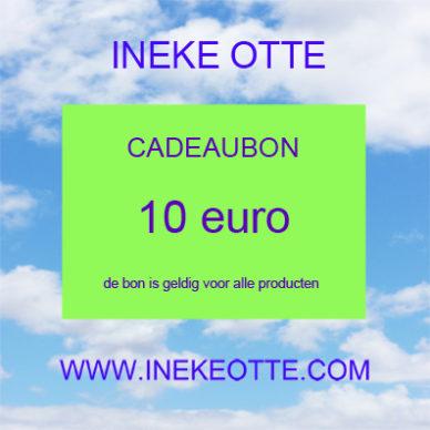 kadobon 10 euro 14x14 cm OK 72