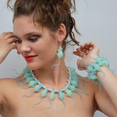 necklace rat blue 3 72