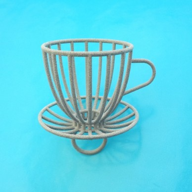ring cup and saucer alumide
