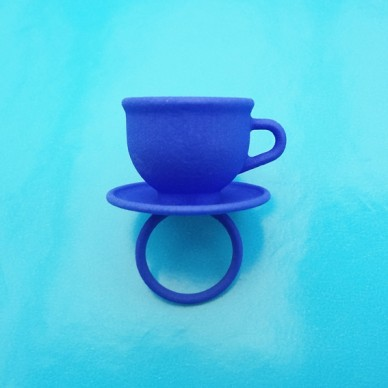 ring cup blue