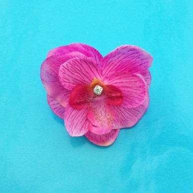 ring flower silk pink 72