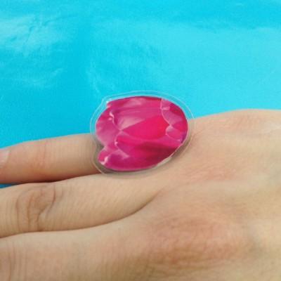 ring  tulip pink