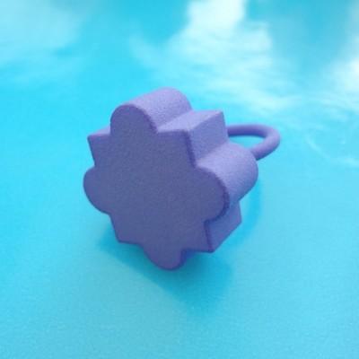 ring mandala purple 72