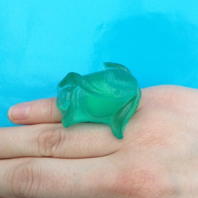 ring resin green