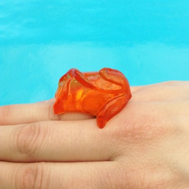ring resin orange