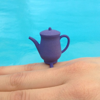 ring teapot purple