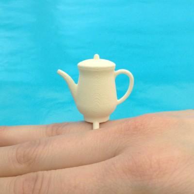 ring teapot white