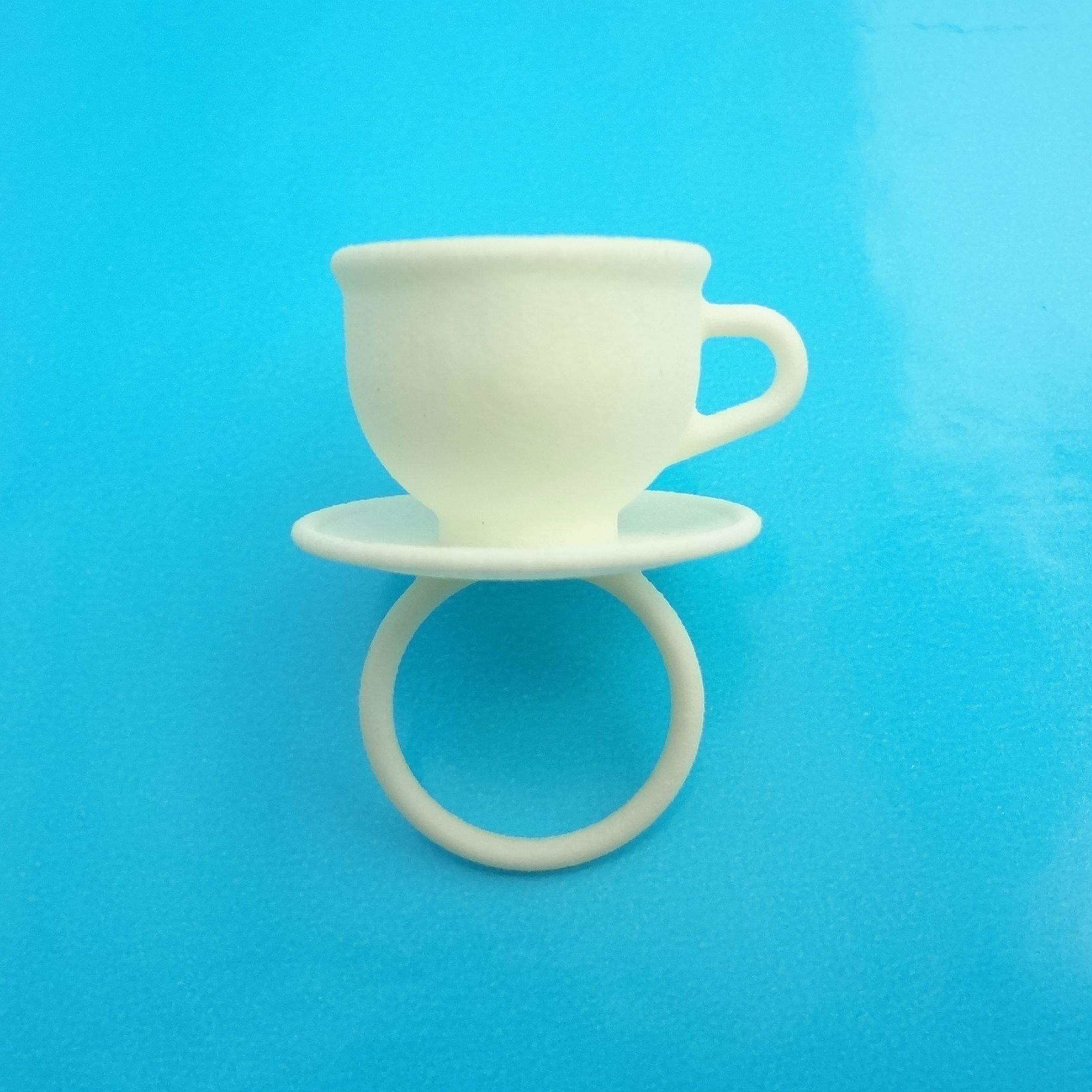 ring cup white 300