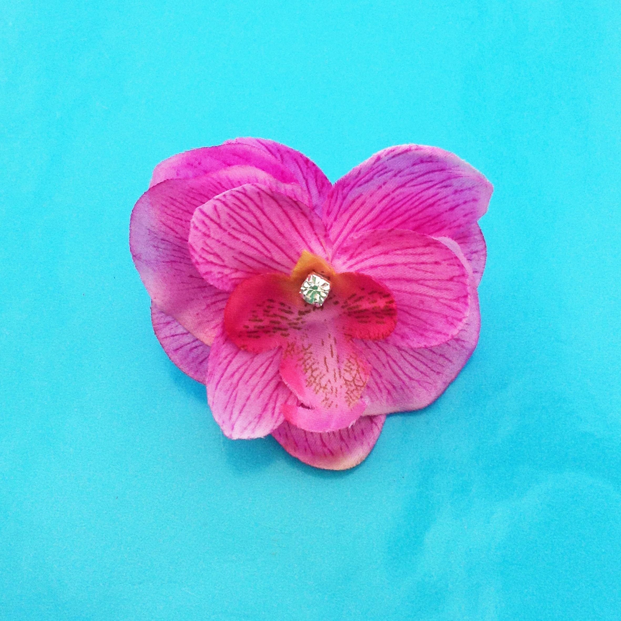 ring flower silk pink 300