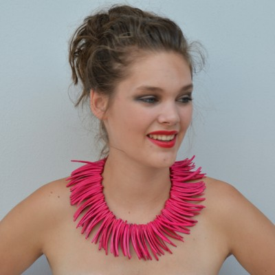 necklace pieces pink 72