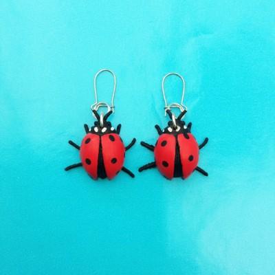 earring ladybird 72