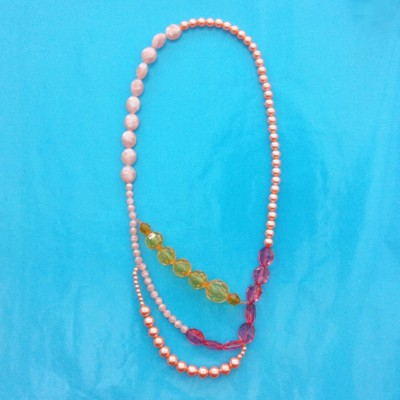 100necklace shine long pink 1 72