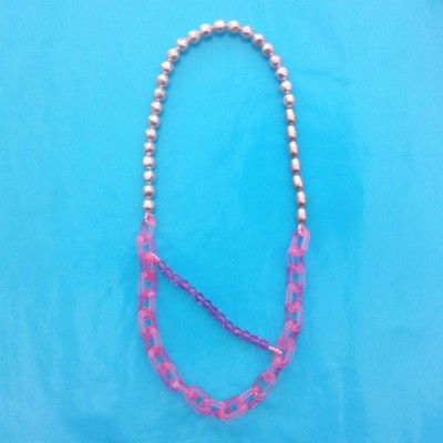 103necklace shine long pink 4 72