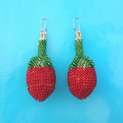 110 earring fruit beads 72