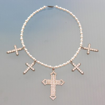 114necklace shine cross 72 - kopie