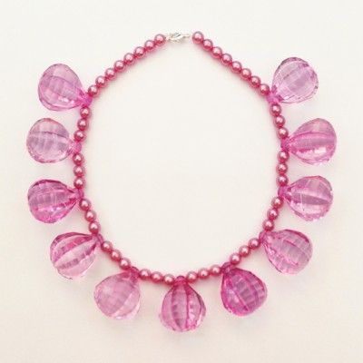 12 necklace pink large 72 - kopie