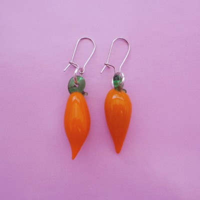 130earring glass redpepper 72