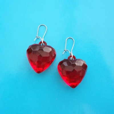 143earring shine red 72