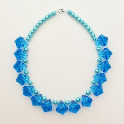 18 necklace shine blue 72 - kopie