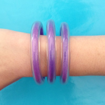 20 bracelet circle purple 72 kopie
