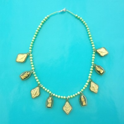 36 necklace buddha green green 72 - kopie