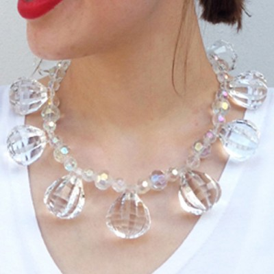 4 so necklace shine trans OK 72