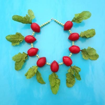 43 necklace radish 72