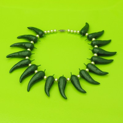 46 necklace pepper green 72