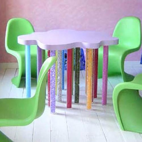 5 tafel+stoelen vierkant kopie