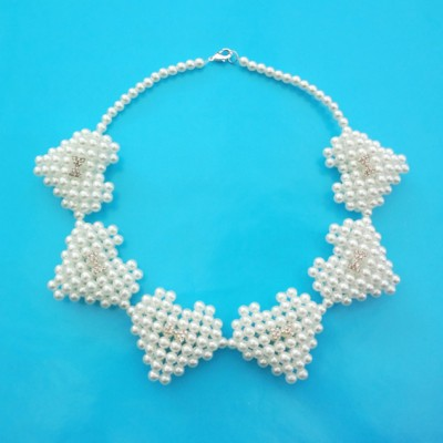 53 necklace pearl heart 72 - kopie