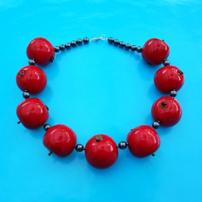 54 necklace apple red 72