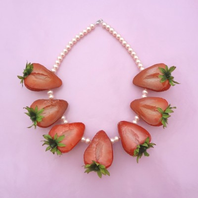 56 necklace strawberry part 72