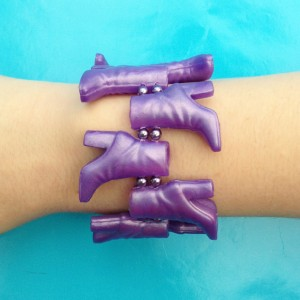 66bracelet shoe purple 72