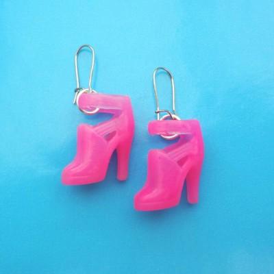 72earring shoe pink 1 72