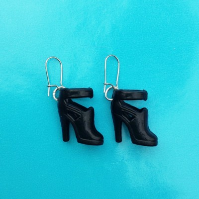 74earring shoe black 1 72