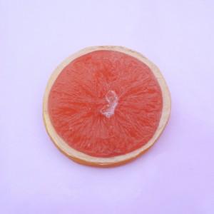 77 brooch orange red large 72