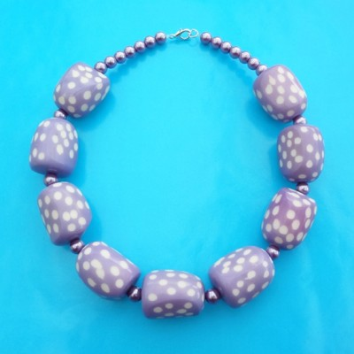 85necklace purple point 72 - kopie