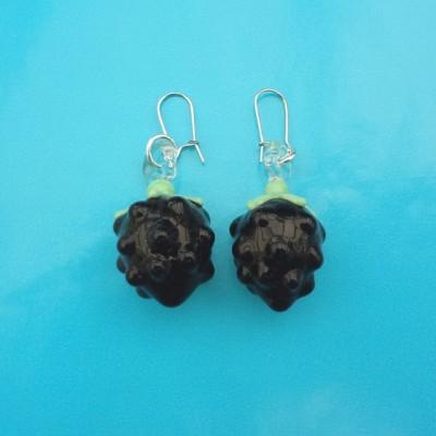 92 earring glass blackberry 72